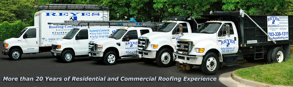 commercial and residential roofing services northern va